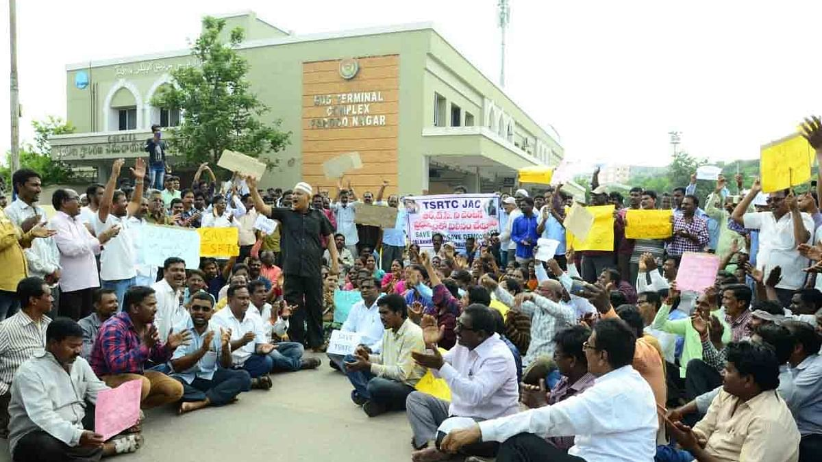 TSRTC employees rule out calling off strike