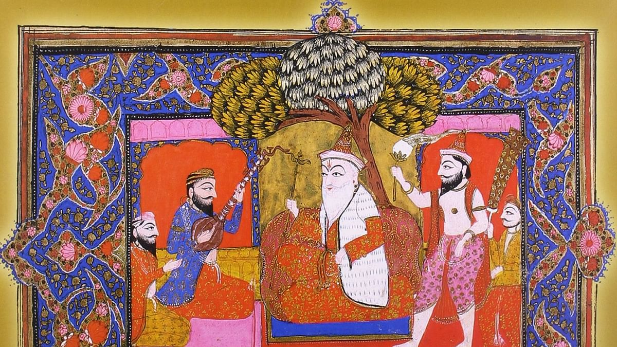 550th birth anniversary of Guru Nanak:  How the Guru chose his successor