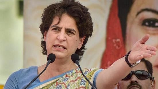 Crime in UP is rising as Yogi govt protecting perpetrators: Priyanka Gandhi