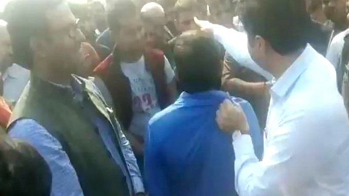 UP govt removes Amethi DM after video with kin of BJP leader's slain son goes viral