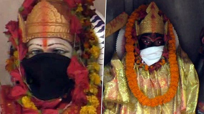 Now masks for Gods in Varanasi temples to save them from air pollution