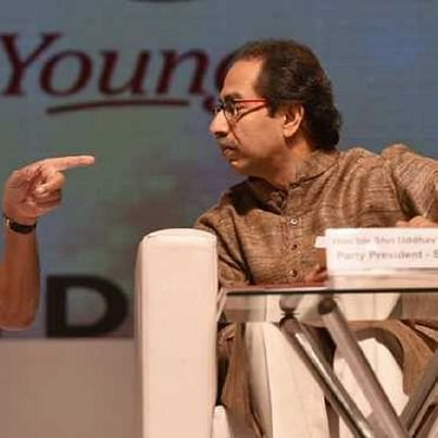 NCP president Sharad Pawar (left) with Shiv Sena chief Uddhav Thackeray (PTI file photo)