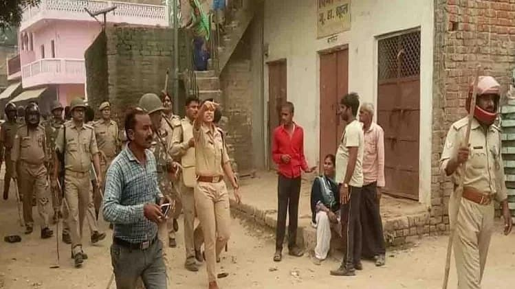 UP Police admits over 37 per cent of criminals killed in encounters in last 40 months were Muslims