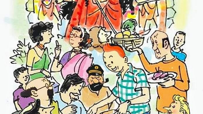 Tintin fans stole my house, said he got it as gift when he visited India