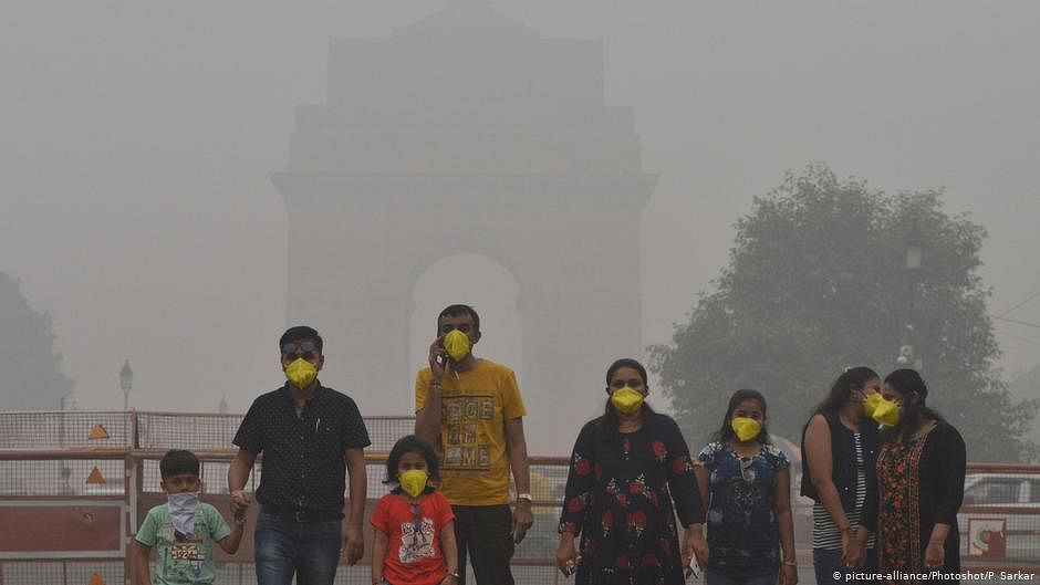 NASA images show polluted skies set to engulf north India soon