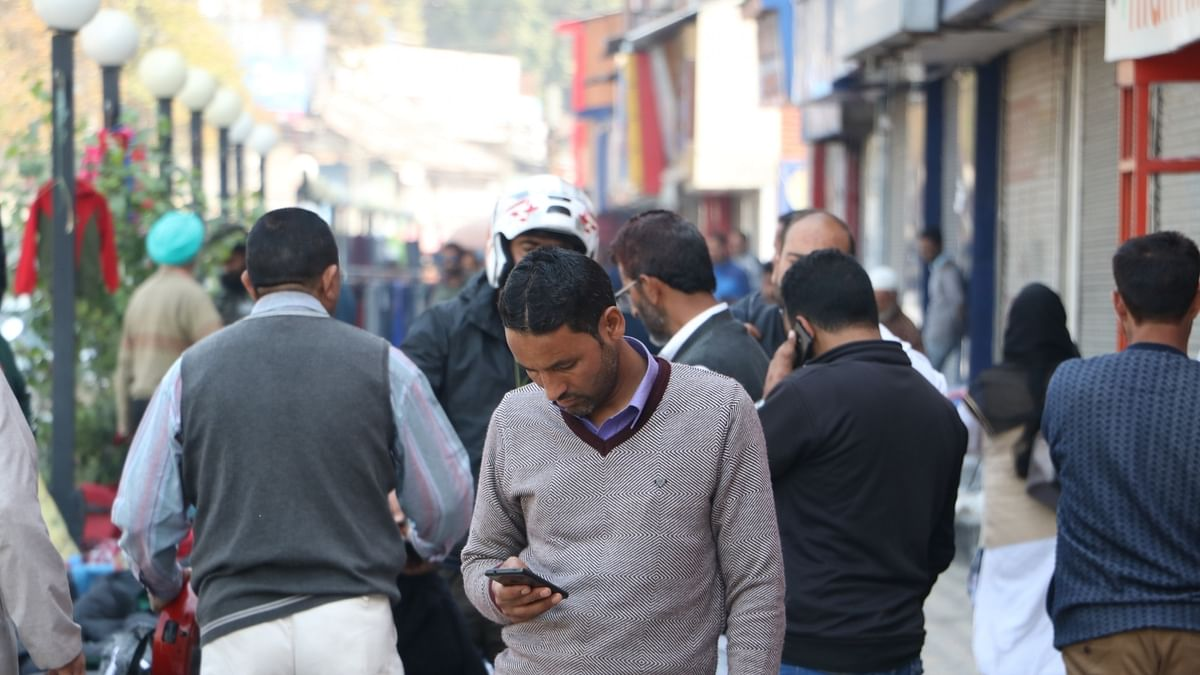 Despite SMS blockade in Kashmir, this man manages to send messages to family