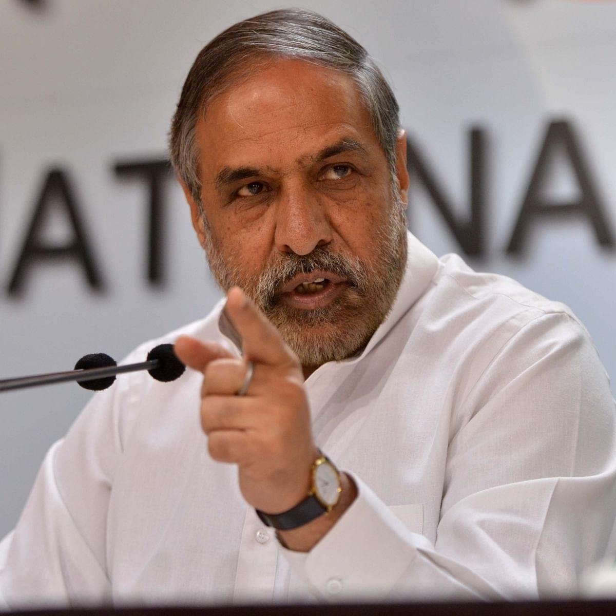 Congress leader Anand Sharma (File photo: IANS)