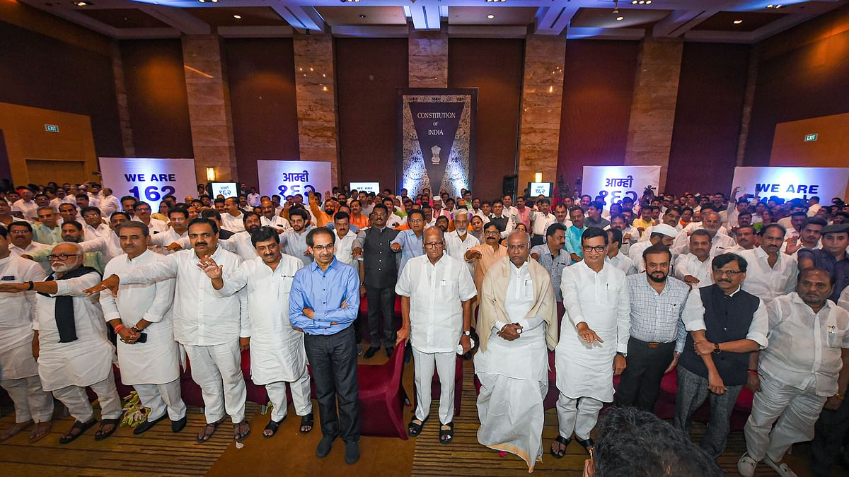 Historic oath by M'rashtra MLAs the day before Constitution Day