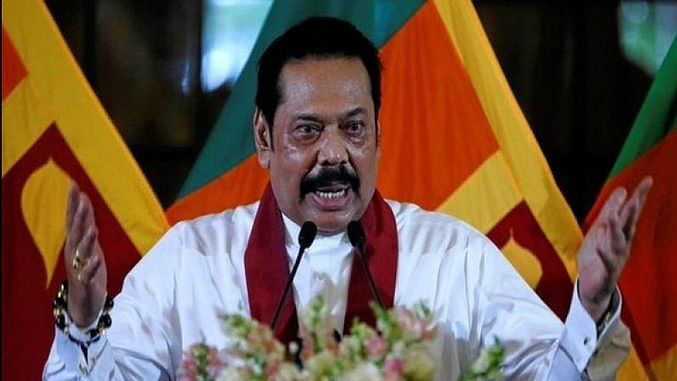 Tamil-language signboards defaced to stall prez Gotabaya's India visit: Lanka PM Rajapaksa