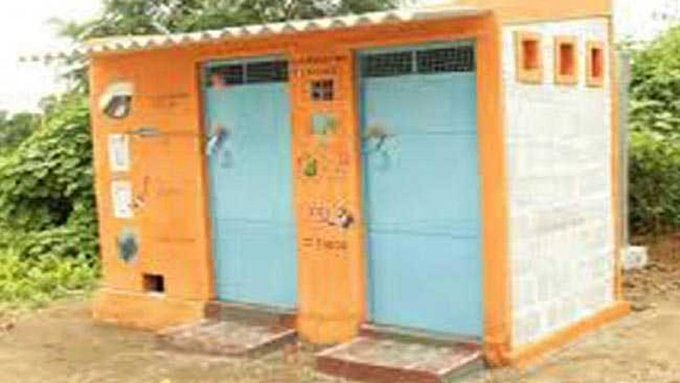 Bizarre! In Yogi raj, saffron painted toilet gets mistaken for temple