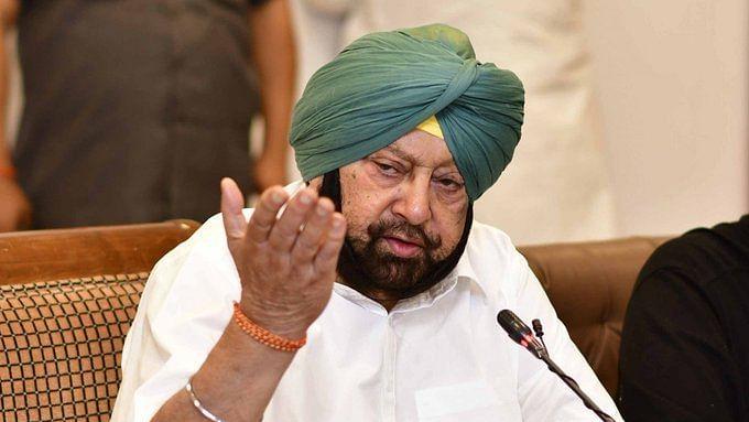 Punjab CM Capt Amarinder Singh (Photo Courtesy: IANS)
