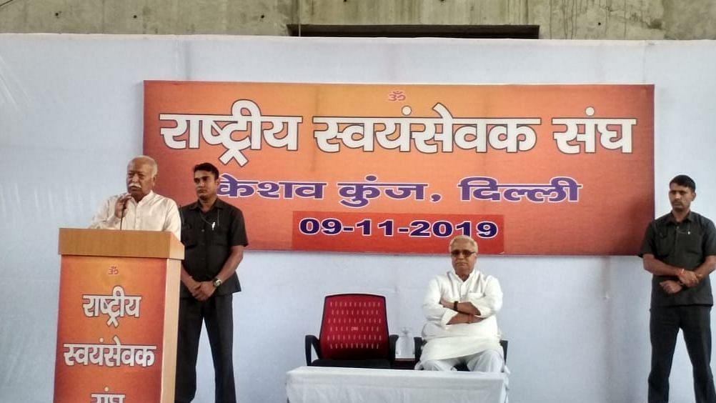 No guarantee of Mathura, Varanasi mosques; grateful to 'martyrs of Ram Mandir', says RSS after Ayodhya verdict