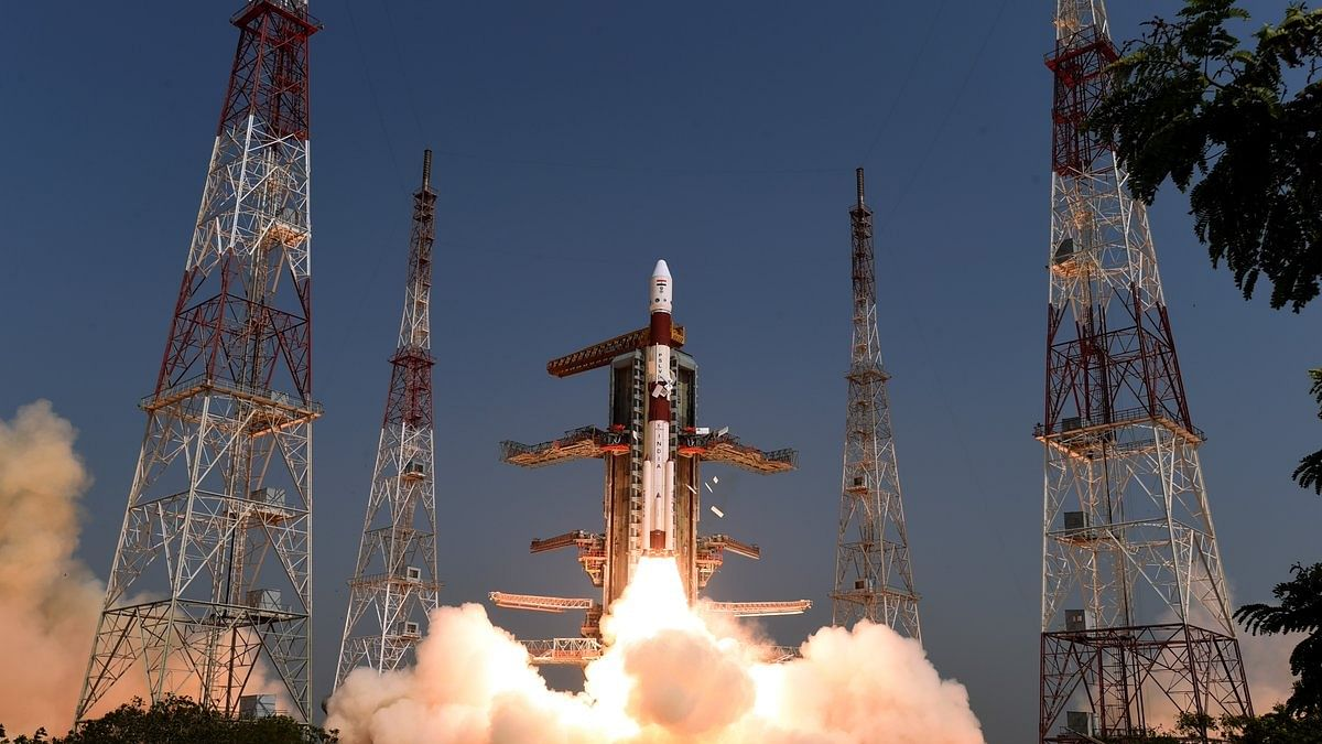 India's PSLV rocket lifts-off with Cartosat-3 and 13 US satellites