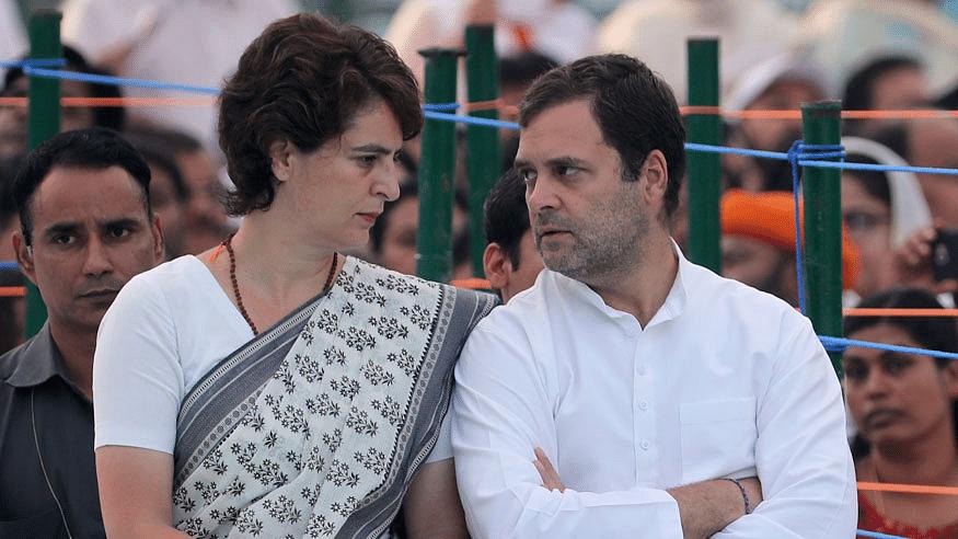 Rahul, Priyanka Gandhi visit Tihar jail to meet Chidambaram