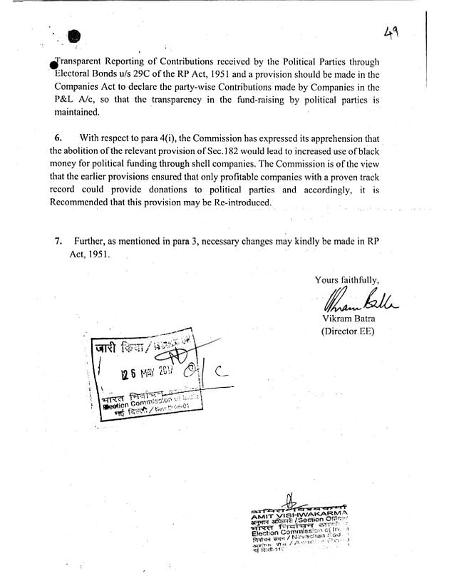 Government lied to Parliament on Electoral Bonds, denied ECI had 'concerns'