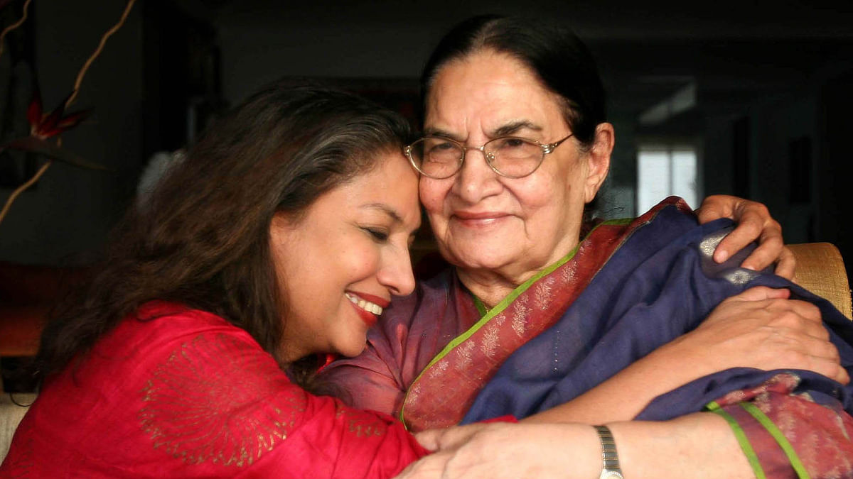 """""""The woman I admired the most is Gone,"""" Shabana Azmi on the passing of Shaukat Kaifi"""