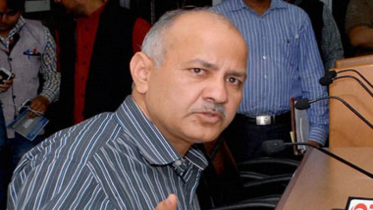 Delhi Deputy Chief Minister Manish Sisodia (PTI photo)
