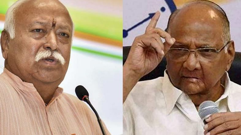 Maharashtra: RSS steps in to rescue Fadnavis; Pawar to address presser at 12.30 pm