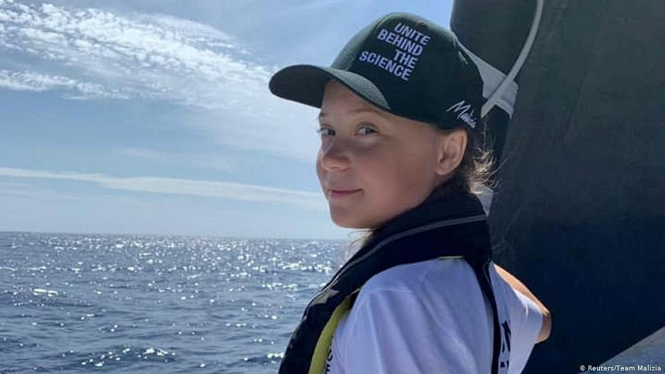 "Greta Thunberg mocks Trump in his own words, tweets ""Chill, Donald, chill!"""