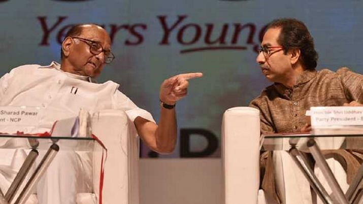 NCP president Sharad Pawar and Shiv Sena chief Uddhav Thackeray, the two who upset the BJP's game plan in Maharashtra