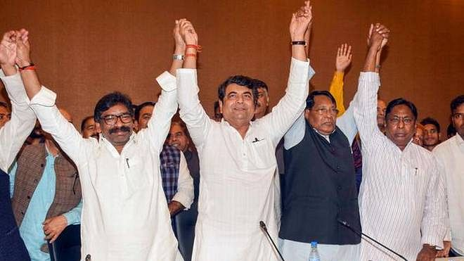 Opposition alliance could cross BJP tally in Jharkhand