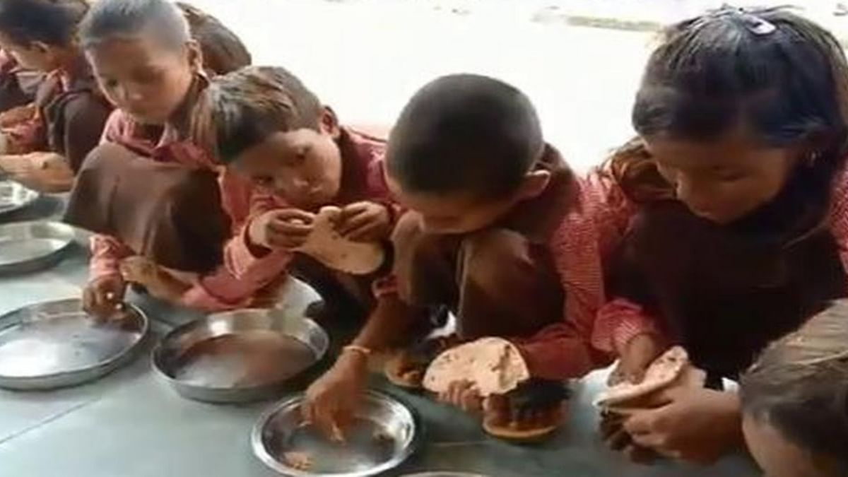 Scribe booked for midday meal video gets clean chit