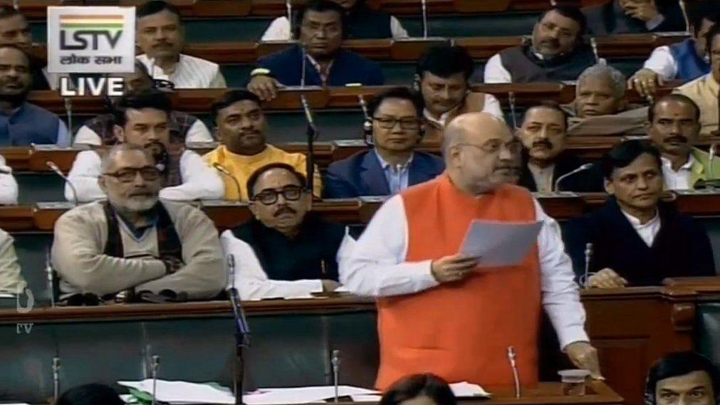 Parliament Winter Session LIVE: Lok Sabha takes up CAB; no political agenda behind this bill, says Amit Shah