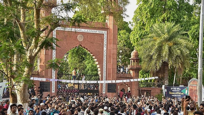 AMU proctor quits, 21 students booked for burning effigies of PM Modi, Amit Shah and Yogi Adityanath