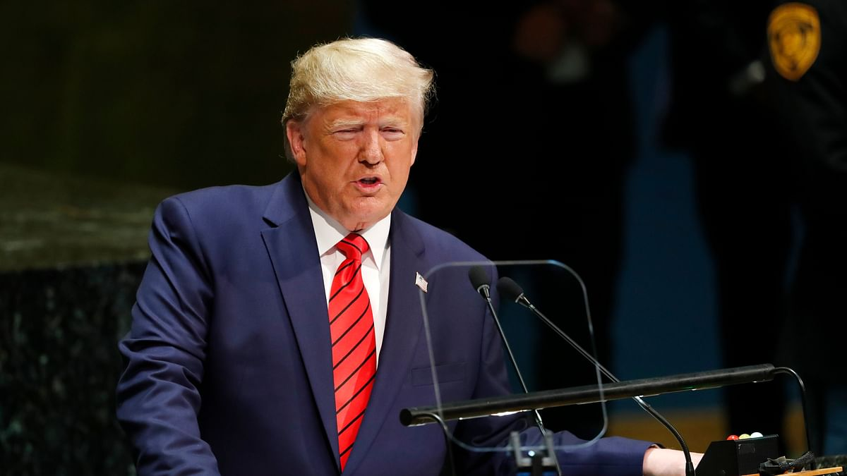 Americans have to flush '10 times, 15 times': Trump on low water pressure