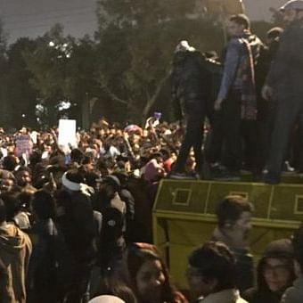 Jamia protests against CAA