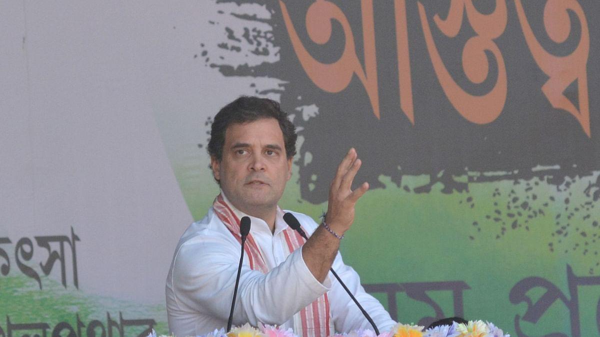 Won't allow BJP-RSS to harm Assam's culture, identity: Rahul Gandhi