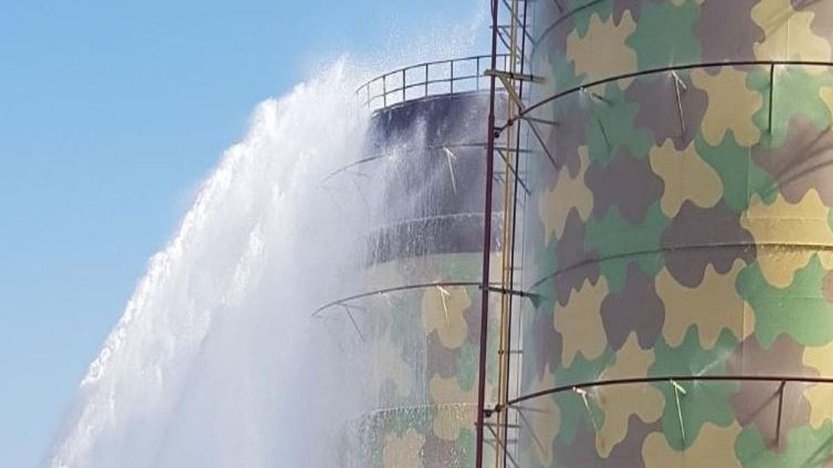 Gujarat: Methanol storage tank catches fire at Kandla Port; 1 dead, 5 feared dead