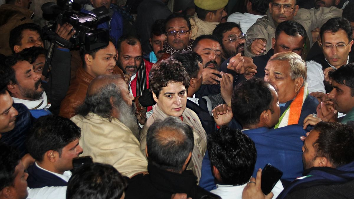 WATCH: UP police manhandle Priyanka in Lucknow, Priyanka takes scooter ride to activist's home