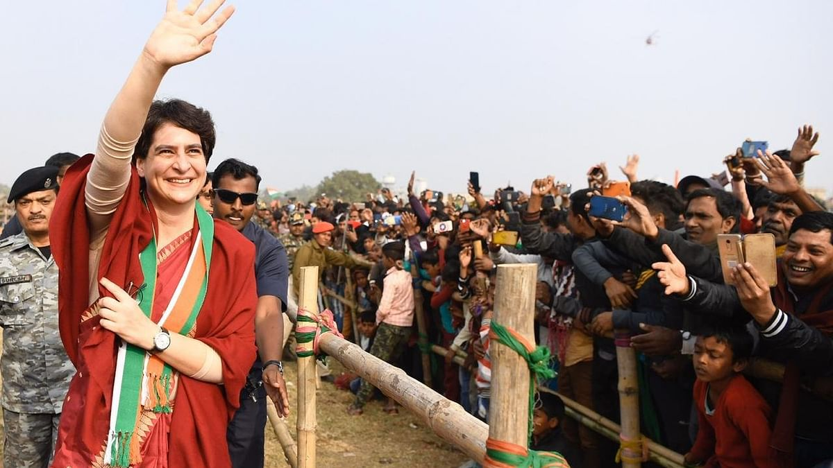 Elect govt that listens to students, says Priyanka Gandhi at Jharkhand rally