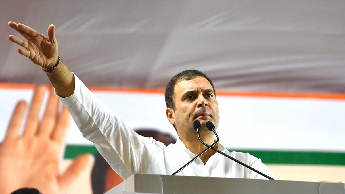 Former Congress president Rahul Gandhi will address a party rally in Guwahati, Assam, on Saturday.