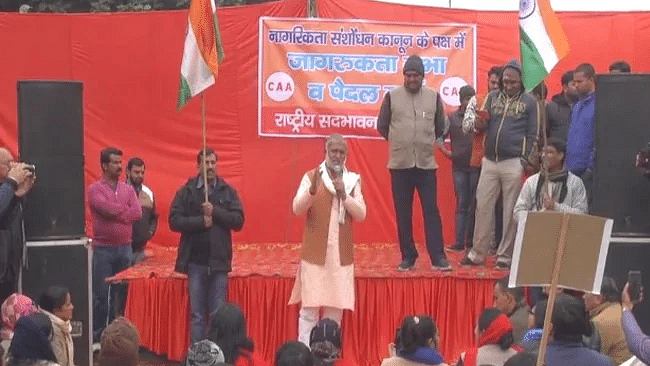Those opposing CAA, NRC can be 'wiped out' in an hour, says Haryana BJP MLA