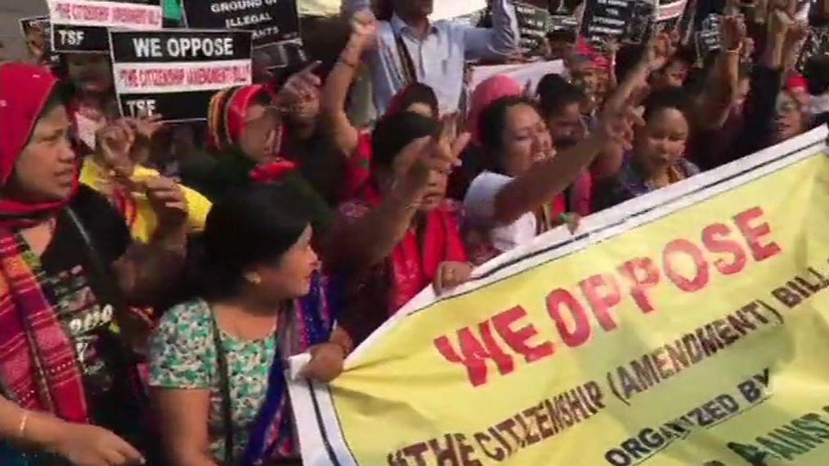 11-hour Northeast bandh begins to protest against Citizenship Amendment Bill