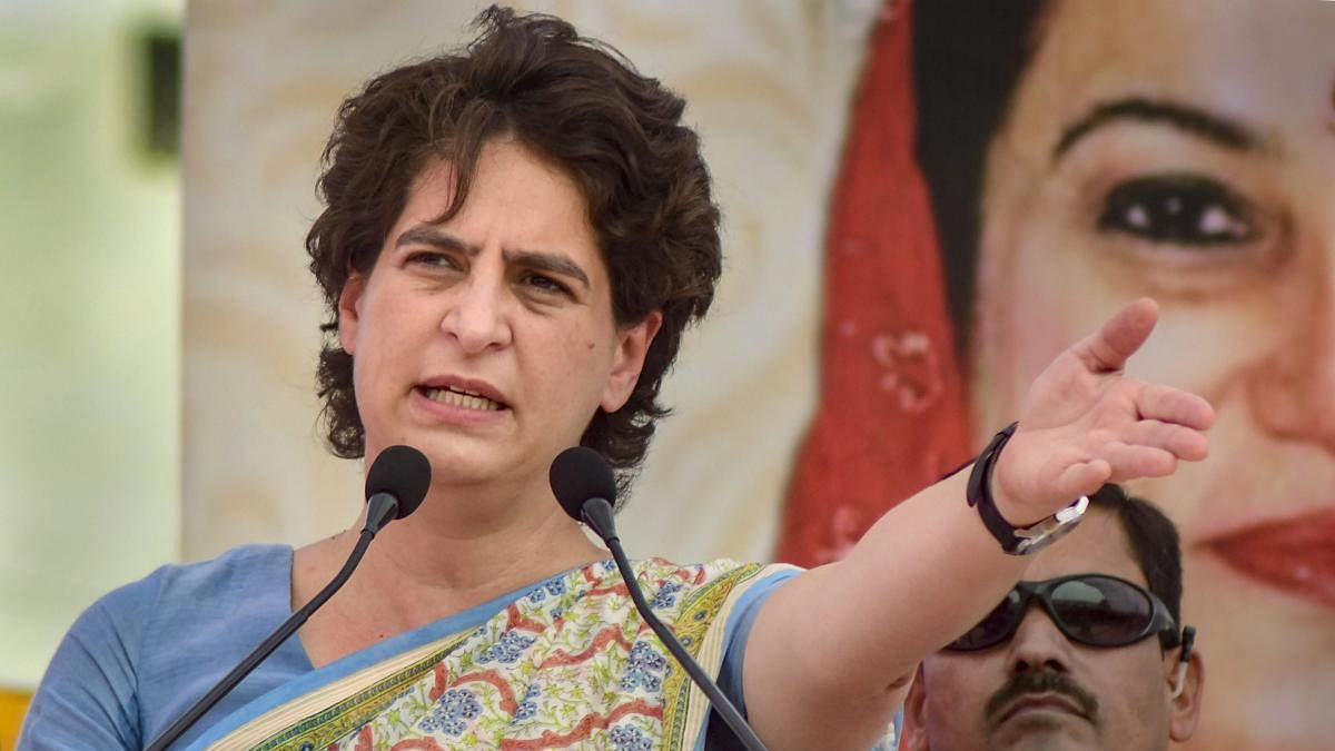 Priyanka Gandhi attacks Yogi govt over Meerut cop's 'go to Pakistan' remark, says, BJP  communalised police