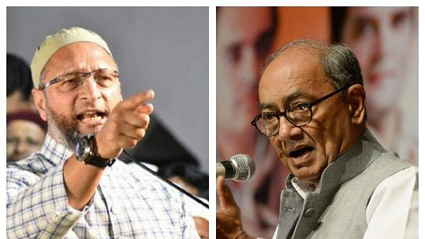 Digvijaya, Owaisi slam Army Chief for his comments on anti-CAA protest