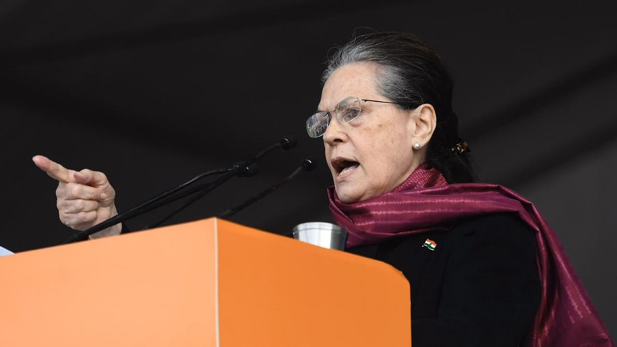 Bharat Bachao Rally: Modi-Shah only want to incite people to fight and hide real issues, says Sonia Gandhi