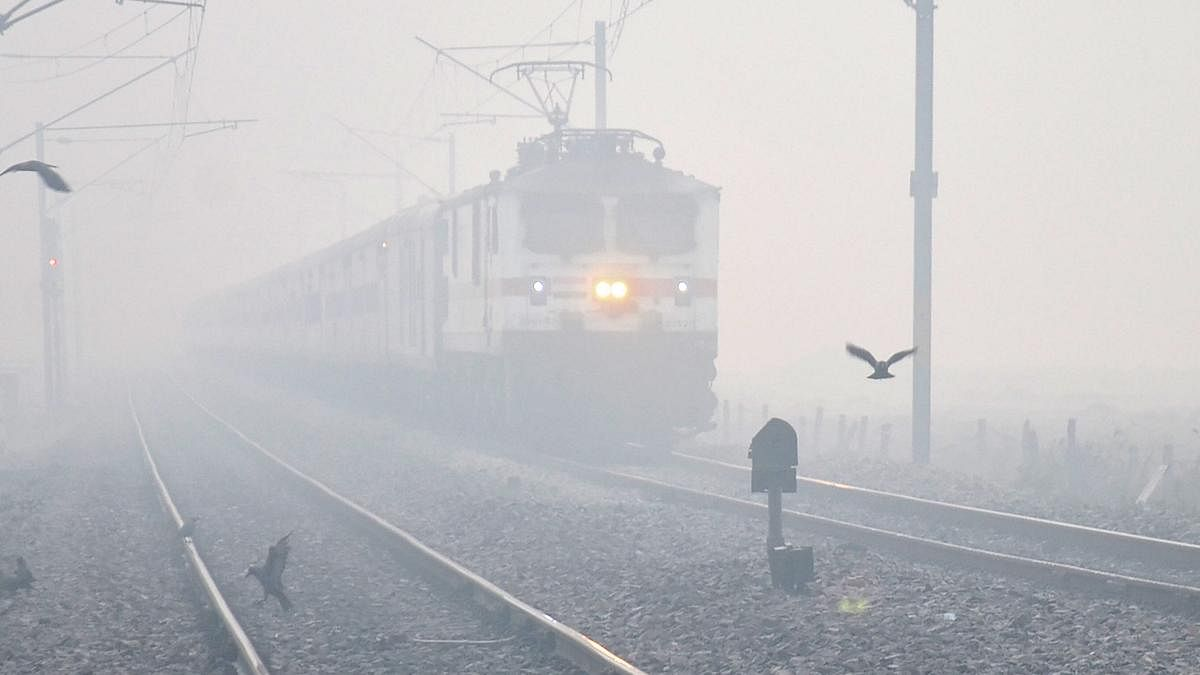 Delhi shivers at 5.7 degrees Celsius