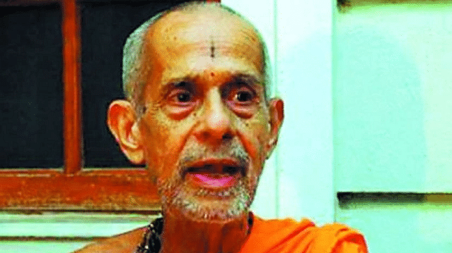 Pejawar math head Vishwesha Theertha Swamiji passes away