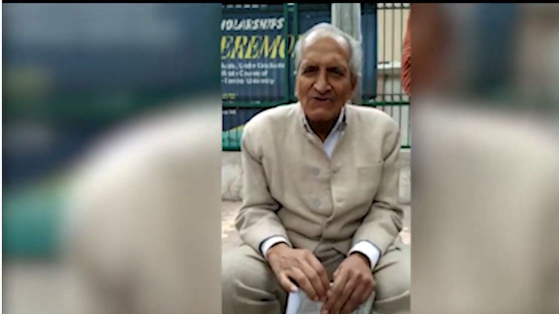 Retired IIT Professor's solitary campaign against the National Register of Citizens:  Listen to VK Tripathi