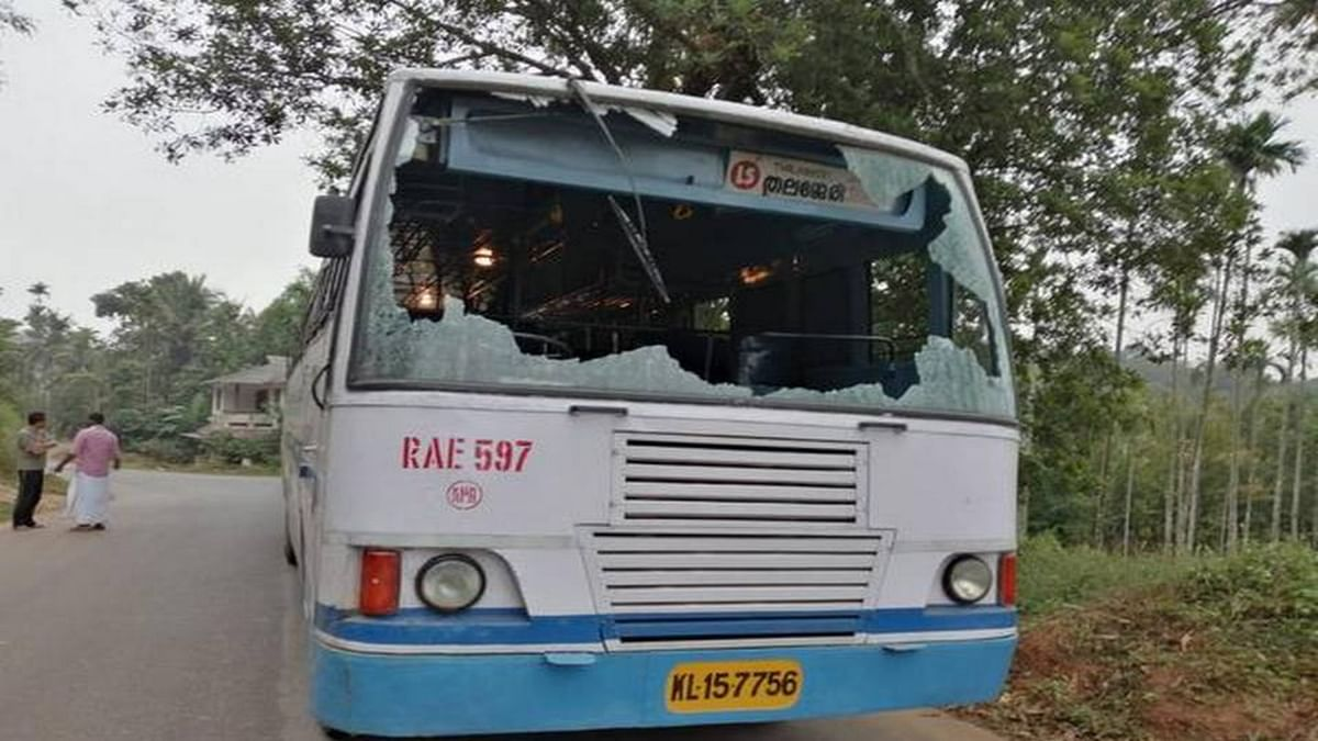 KSRTC buses stoned, roads blocked during hartal against CAA in Kerala