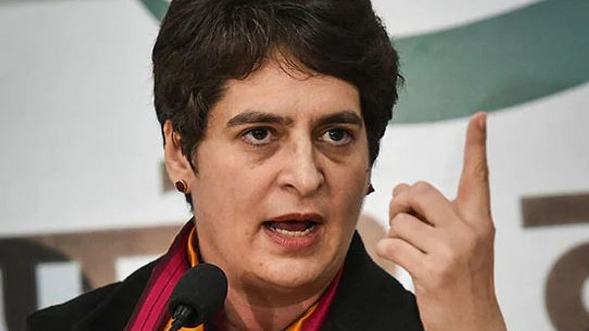 Priyanka Gandhi questions recruitment of 'Police Mitras' in Uttar Pradesh to help police