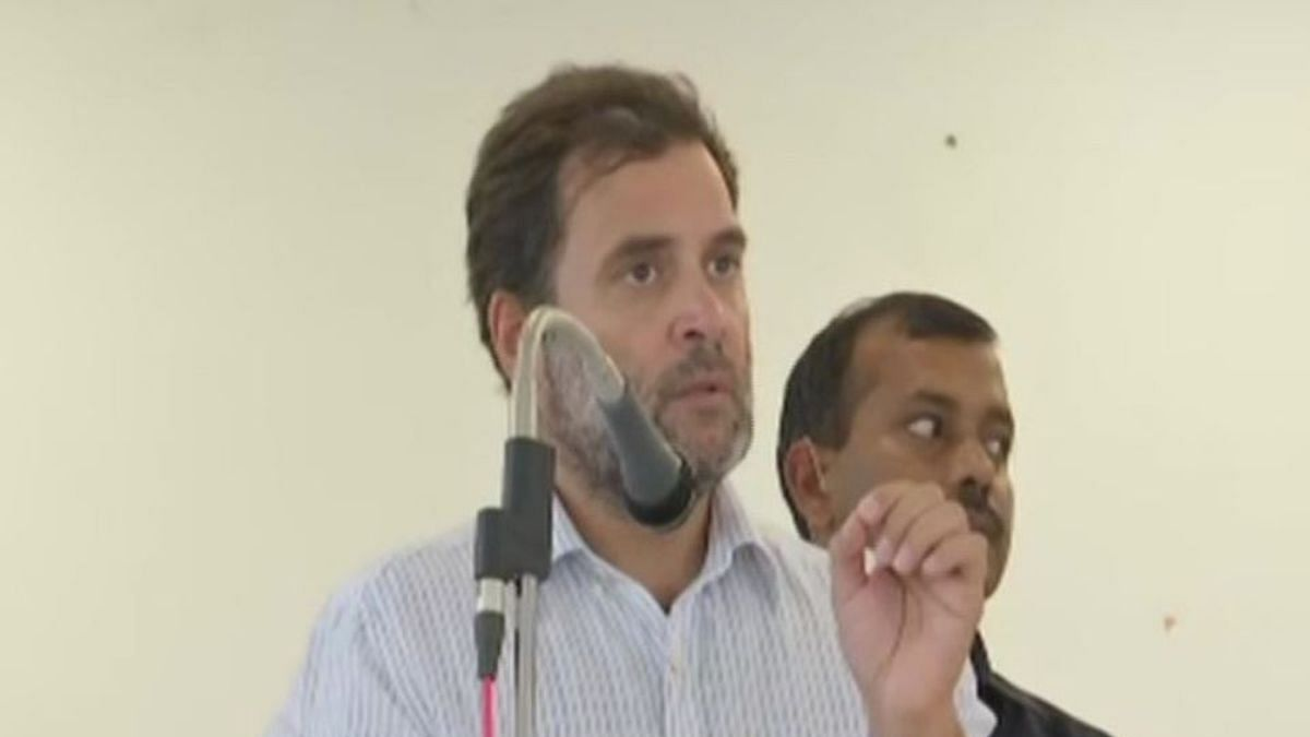 Rise in violence, atrocities against women, says Rahul Gandhi