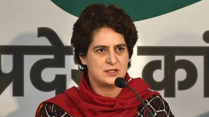 UP govt should provide insurance cover to all journalists: Priyanka Gandhi