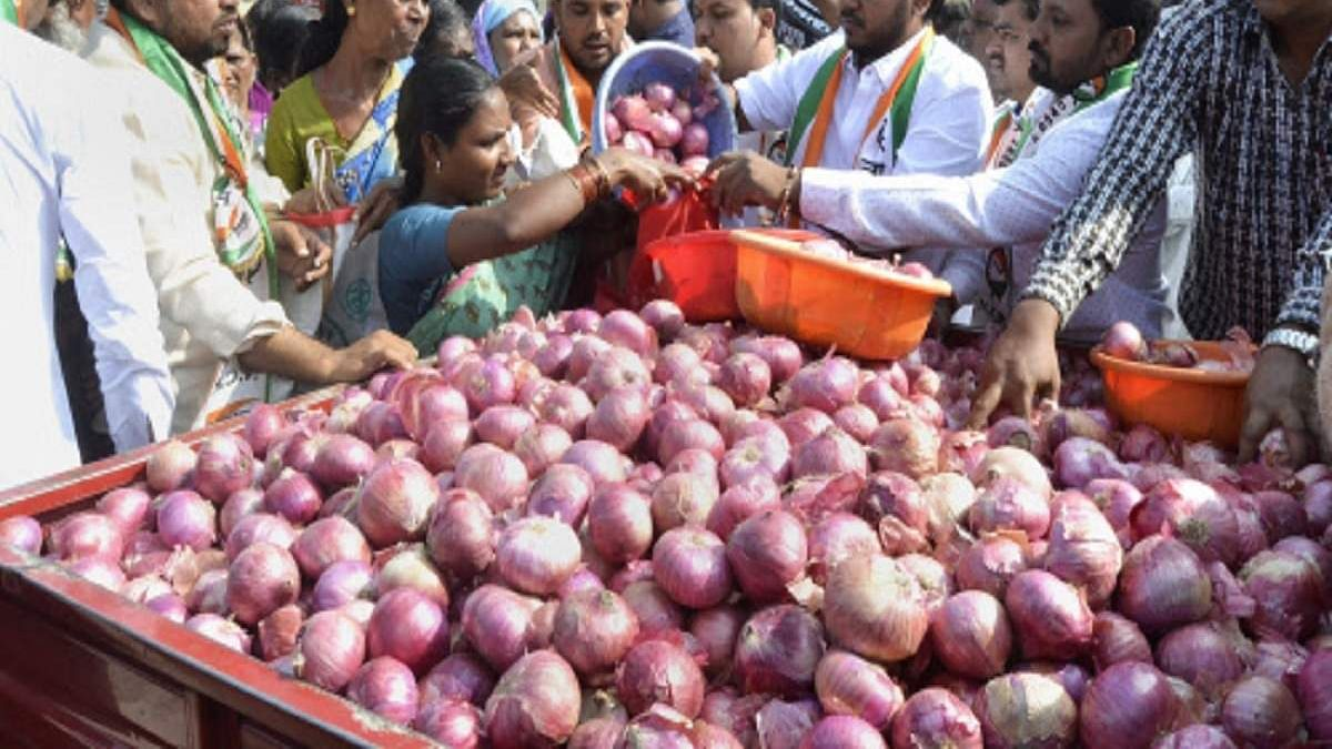 Onion, poor man's staple, is worth more than its weight in gold Madame Minister!