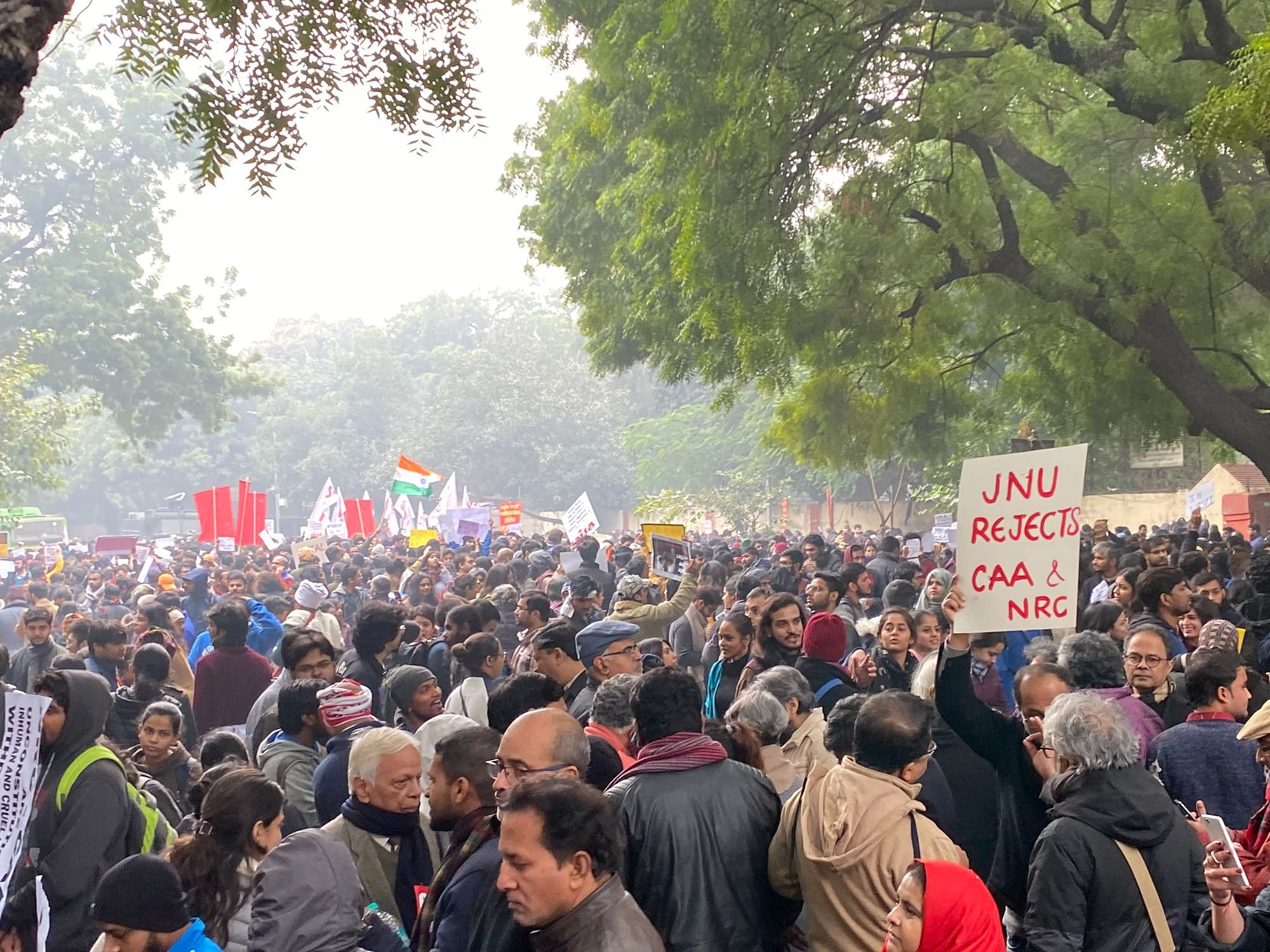 When Delhi got out to protest Citizenship Amendment Act in ...