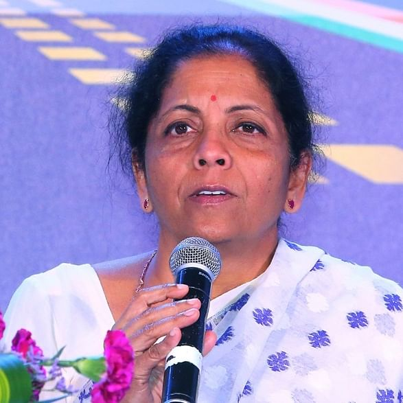 Finance Minister Nirmala Sitharaman (File Photo--IANS)